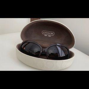Coach Arabella brown sunglasses